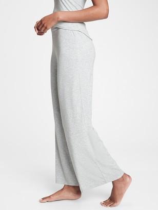 Gap Ribbed Drop Needle Wide Leg Pants