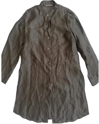Jaeger Brown Linen Top for Women