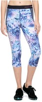 Juicy Couture Compression Prism Floral Crop Legging