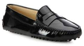 Tod's Gommini Patent Leather Drivers