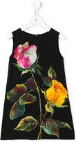 Dolce & Gabbana floral print dress - kids - Viscose - 6 yrs
