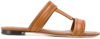 Tod's T-stitched sandals