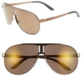 Carrera Men's Eyewear 64Mm Aviator Sunglasses - Light Brown/ Violet