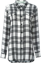 Off-White plaid shirt - women - Silk - XS