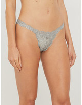 We Are Hah String Me stretch-lace thong