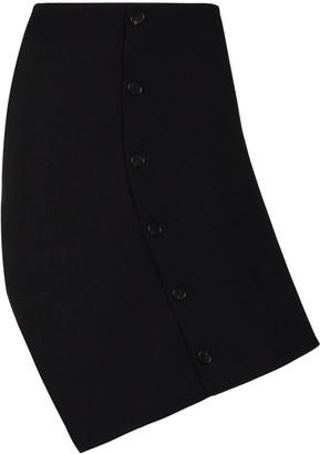 Coperni Button-Up Asymmetric Skirt