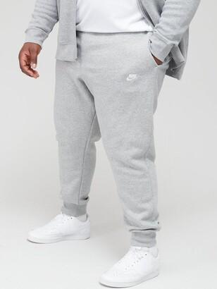 Nike NSW Plus Size Club Fleece Joggers - Grey
