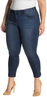 Democracy AB Tech Skinny Ankle Jeans (Plus Size)