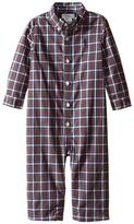 Ralph Lauren Poplin Kensington One-Piece Coveralls (Infant)