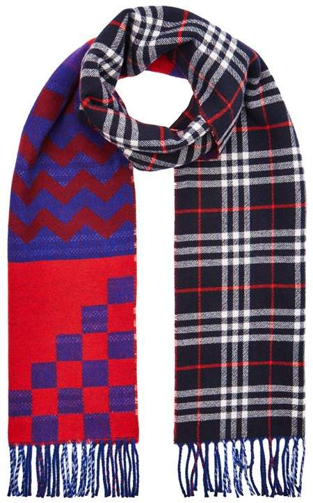 Burberry Reversible Wool Scarf