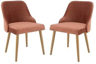 Lulu Studio Seven Upholstered Dining Chair, Set of 2