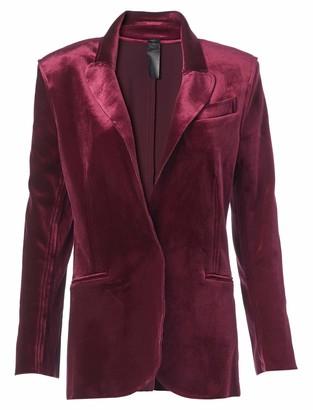 Norma Kamali Women's Single Breasted Jacket Bu