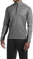 Spalding Intensity Fleece Shirt - Zip Neck, Long Sleeve (For Men)