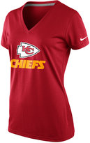 Nike Women's Short-Sleeve Kansas City Chiefs V-Neck T-Shirt
