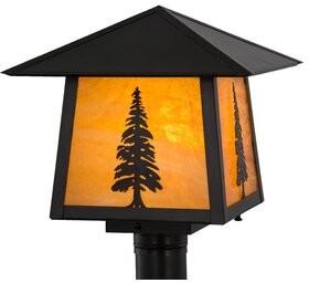 Stillwater Meyda Tiffany Tall Pine 1-Light Lantern Head Meyda Tiffany
