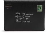 Dunhill Boston leather envelope passport holder