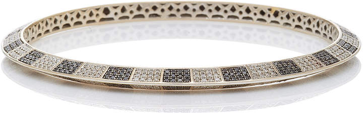Black Diamond Ofira White & Checker Bangle