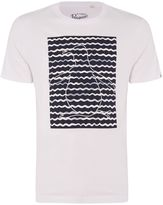 Original Penguin Waves Printed Pete Short-sleeve T-shirt