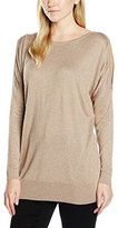 Wallis Women's Metallic Cold Shoulder Jumper
