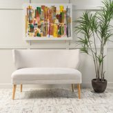 Christopher Knight Home Desdemona Mid-Century Fabric Loveseat