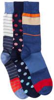 Lorenzo Uomo Dress Socks - Pack of 3