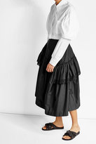 Simone Rocha Cotton Skirt with Cut-Out Detail