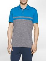 Calvin Klein Performance Colorblock Polo Shirt