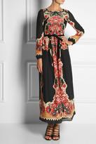 RED Valentino Printed wool maxi dress