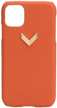 Manokhi x Velante logo iPhone 11 case