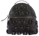 Fendi 2016 Floral Leather Backpack