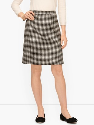 Talbots Diamond Print Skirt