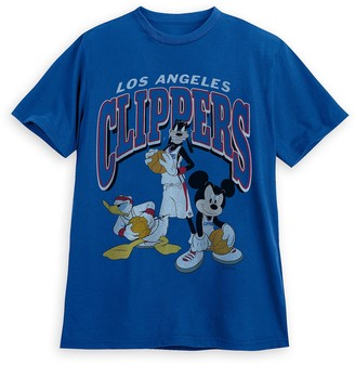 Disney Mickey Mouse and Friends Los Angeles Clippers T-Shirt for Adults by Junk Food