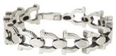 Steve Madden Horseshoe Chain Link Bracelet