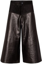 Thumbnail for your product : J Brand Evie leather culottes
