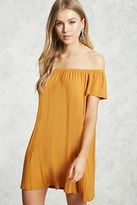 Forever 21 Off-the-Shoulder Shift Dress