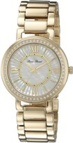 Lucien Piccard Women's LP-11902-YG-22MOP Alice Analog Display Quartz Gold Watch