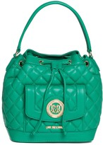 Love Moschino Quilted Satchel Bag