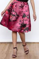 Closet Satin Skirt