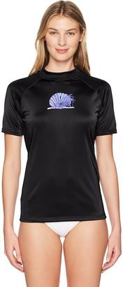 Kanu Surf Women's Alyssa UPF 50+ Short Sleeved Active Rashguard & Workout Top
