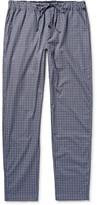 Hanro - Checked Cotton Pyjama Trousers