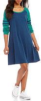 Lauren James Varsity Long Sleeve Dress
