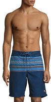 Tommy Bahama Baja Skyros Stripe Swim Shorts