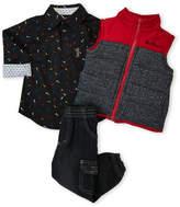 Ben Sherman Toddler Boys) 3-Piece Jogger Jeans Set