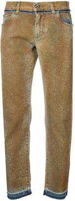 Dolce & Gabbana washed slim fit jeans