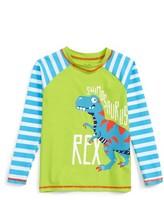 Hatley Toddler Boy's T-Rex Rashguard Top