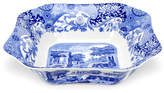 Spode Blue Italian Square Salad Bowl
