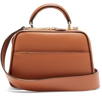 Valextra Serie S Small Smooth-leather Bag - Tan