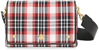 Burberry Hackberry Tartan Crossbody Bag