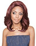 Red Carpet Lace Front Wig from Style Bisola Sleek Color (2 Dark Brown)