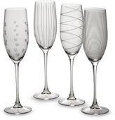 Mikasa Cheers 8 oz. Toasting Flutes (Set of 4)